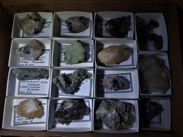 Diverse Mineraler